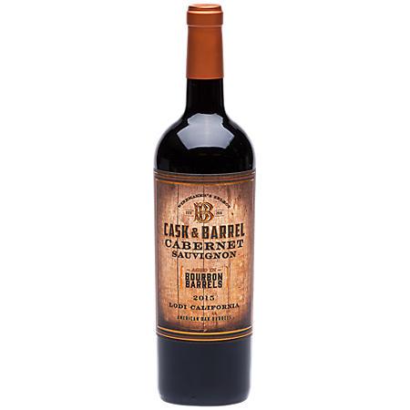 Cask & Barrel Bourbon Barrel Aged Cabernet Sauvignon (750 ml)