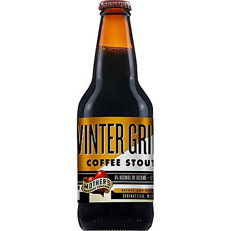 Mother's Seasonal Beer Winter Grind Coffee Stout (12 fl. oz., 6 pk.)