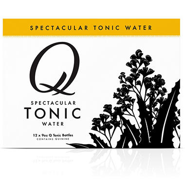 Q Tonic Spectacular Tonic Water (9 oz. bottles, 12 pk.)
