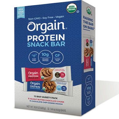 Orgain Chocolate Chunk Protein Bar
