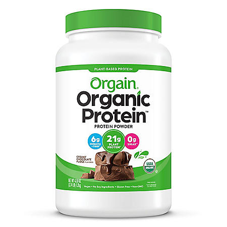 Orgain® Organic Protein™ Plant Based Powder Creamy Chocolate Fudge (2.74 lbs.)