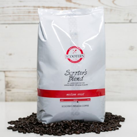 Scooter's Coffee Scooter's Blend, Whole Bean (2 lbs.)