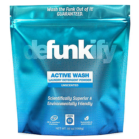 Defunkify ACTIVE WASH Powder (92 loads, 55 oz.)