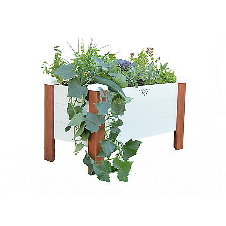 Vinyl Wrapped Planter Box 18 x 33 x 20
