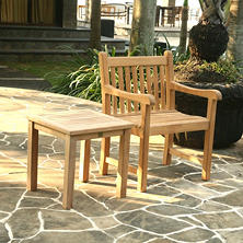Wonderful Top Rated Grade A   Alba Teak Side Table
