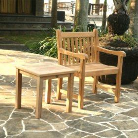 Grade A Alba Teak Side Table