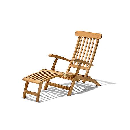 Traditional Teak Ocean Deck Chair