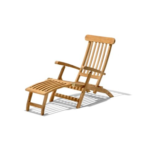 Traditional Teak Ocean Deck Chair