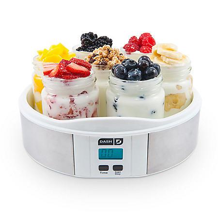Dash 7 Glass Jar Yogurt Maker