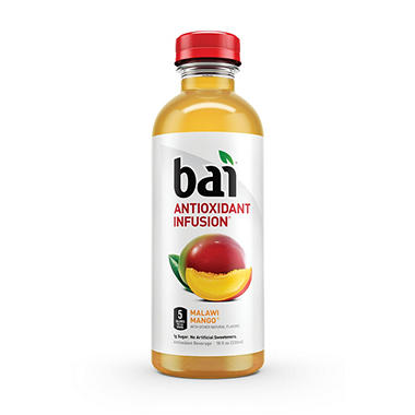 Bai Malawi Mango Antioxidant Infused Drink (18 oz. bottle)