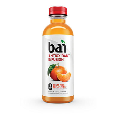 Bai Costa Rica Clementine Antioxidant Infused Beverage (18 oz. bottle)