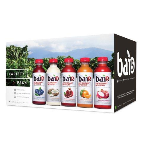 Bai 5 Variety Pack (18 oz. bottles, 15 pk.)