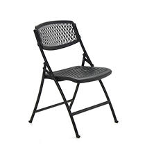 Mity Lite Flex One Folding Chair, Black