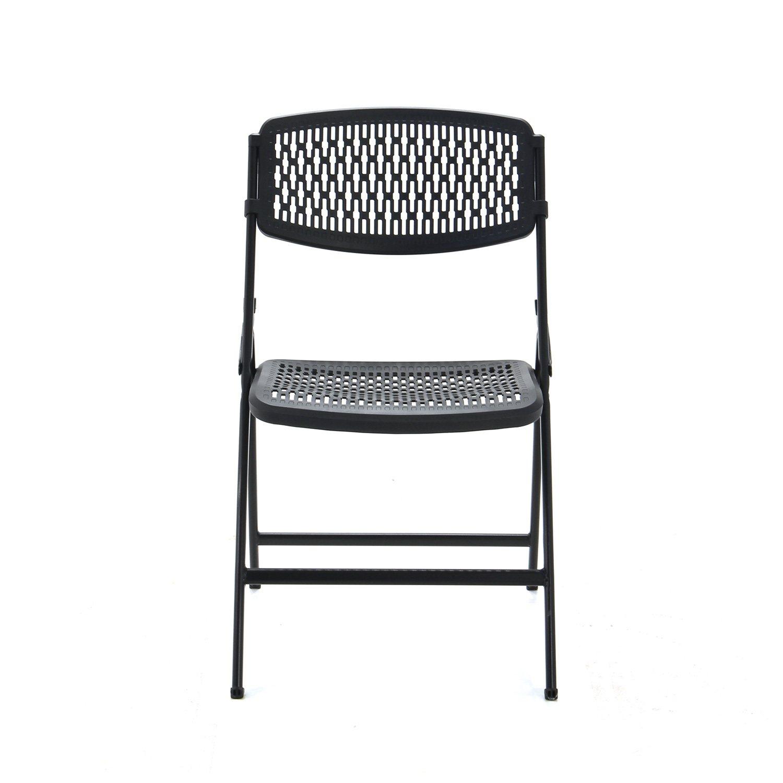 Mity Lite Flex e Folding Chair Black Sam s Club