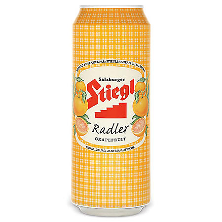Stiegl Radler (Grapefruit) (17 fl. oz. can, 4 pk.)