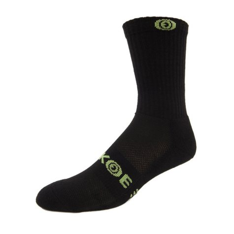 EEKOE Bamboo Sport Athletic 3/4 Crew Sock - 6-Pack (Assorted Colors/Sizes)