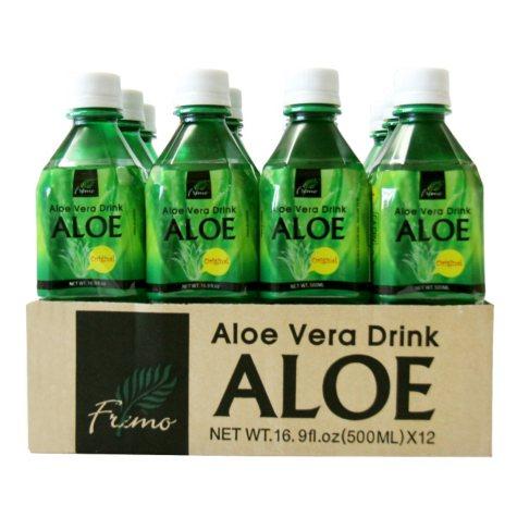 Aloe Vera Drink - 16.9 oz. bottles - 12 pk.