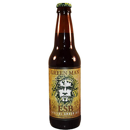 Green Man ESB Amber Ale (12 fl. oz. bottle, 12 pk.)