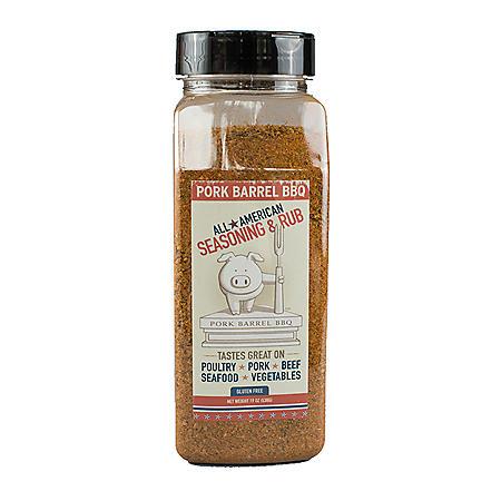 Pork Barrel BBQ All American Seasoning & Rub (19 oz.)