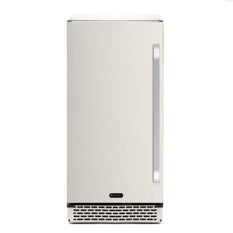 Whynter 3.2 cu. ft. Indoor/Outdoor Beverage Refrigerator, Stainless Steel