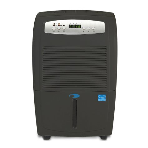 Whynter Energy Star 50-Pint Portable Dehumidifier with Gravity Pump/Slate Gray