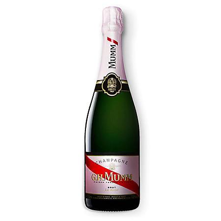 G. H. Mumm Brut Rose Champagne (750 ml)