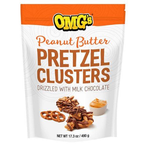 OMG's Peanut Butter Pretzel Clusters (17.03 oz.)