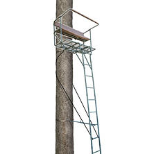 Lone Wolf Alpha Tech 17' Deluxe Two-Man Ladderstand