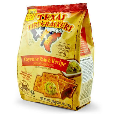 Texas Firecrackers Cayenne Ranch Recipe (7 oz. bags, 3 ct.)