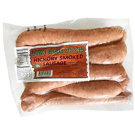 Down Home Hickory Smoked Sausage (5 lbs.)