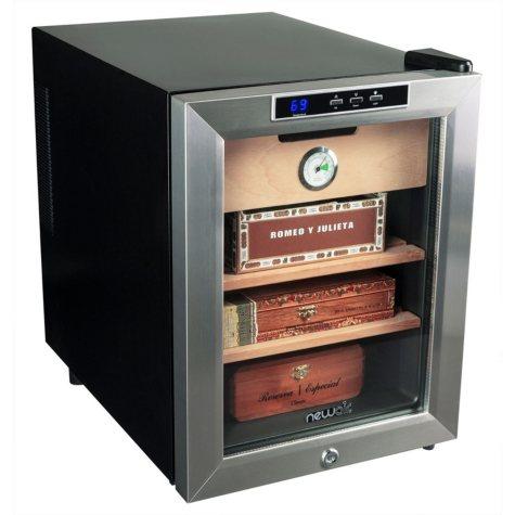 NewAir CC-100H Cigar Cooler and Heater, 250-Capacity