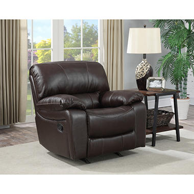 Redfield Leather Recliner Sam S Club