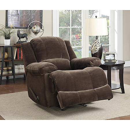 Keesling Fabric Rocker Recliner