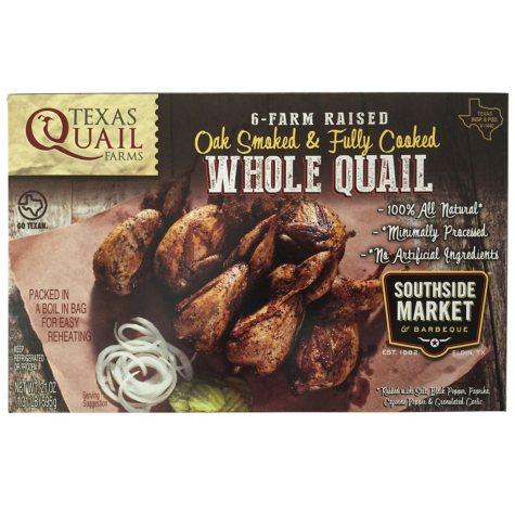 Texas Quail Farms Smoked Whole Quail (6 pk.)