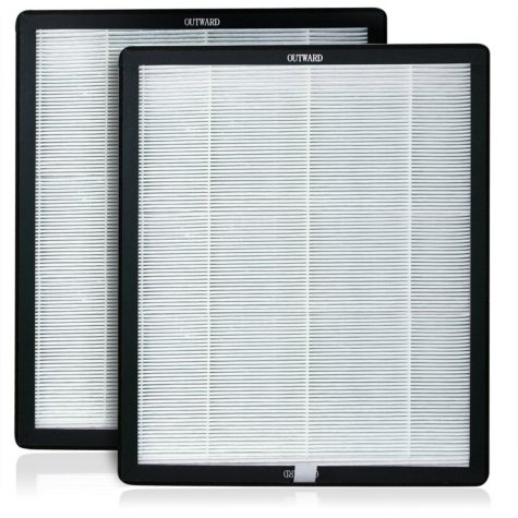 Advanced Pure Air Newport 9000 Replacement HEPA/Carbon Filter (2 pack)