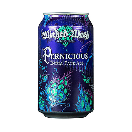 Wicked Weed Pernicious India Pale Ale (12 fl. oz. can, 6 pk.)