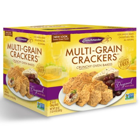 Multi-Grain Crackers