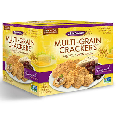 Crunchmaster Multi-Grain Crackers - 10 oz. - 2 ct.