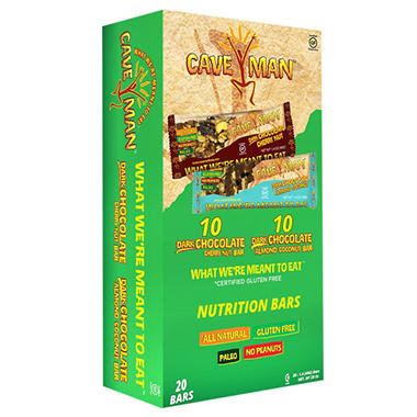 Caveman Bars Variety Pack (20 ct.)