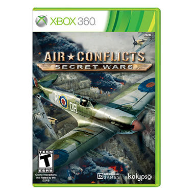 Air Conflicts:Secret Wars - Xbox 360