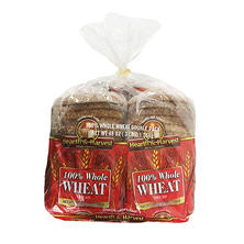 Hearth and Harvest 100% Whole Wheat Bread (2 pk., 24 oz.)