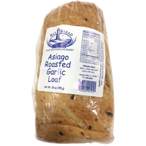 Bay Bread Asiago Roasted Garlic Loaf (21 oz.)
