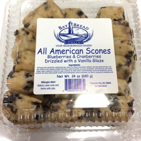 Bay Bread All-American Blueberry & Cranberry Scones (18 pk., 24 oz.)
