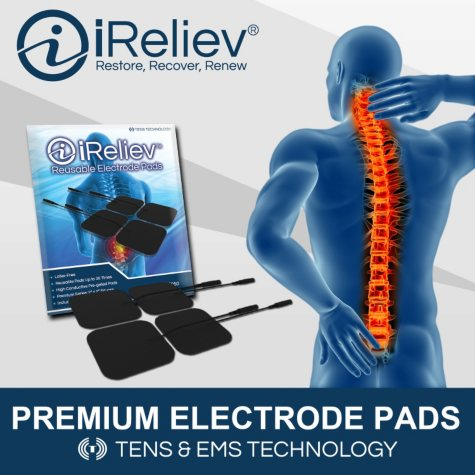 iReliev Electrode Pads Refill Kit with 20 Electrodes