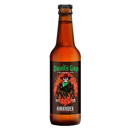 Kindaider Devil's Gap Jalapeño Ale (12 fl. oz. bottle, 6 pk.)