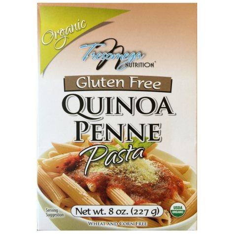 Tresomega Nutrition Organic Quinoa Pasta, Penne (8 oz., 12 pk.)
