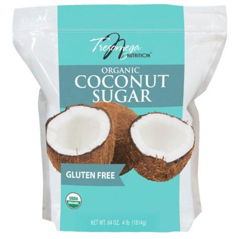 Tresomega Nutrition Organic Coconut Sugar (4 lbs.)