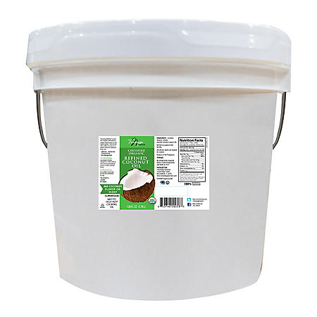 Tresomega Nutrition Organic Refined Coconut Oil (1 gal.)