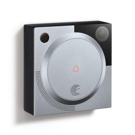 August Doorbell Cam - Dark Gray or Silver