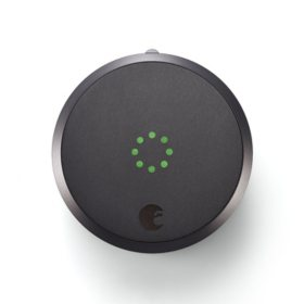 August Smart Lock - Apple HomeKit enabled (Dark Gray)